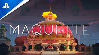 PlayStation Maquette - Gameplay Walkthrough Trailer anuncio
