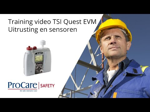 Training Video | TSI Quest EVM | Part 2 | Uitrusting en sensoren
