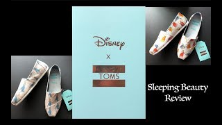 Disney X TOMS Sleeping Beauty Shoes Review