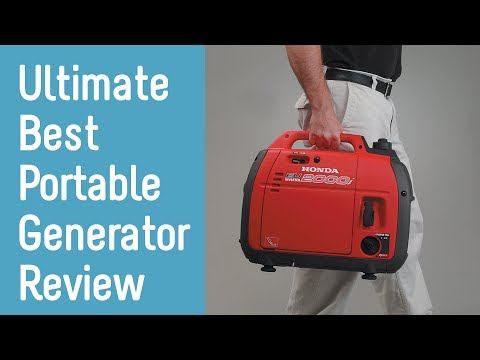 Best Portable Generators 2018 - Buyer's Guide