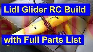 lidl glider rc conversion - TH-Clip