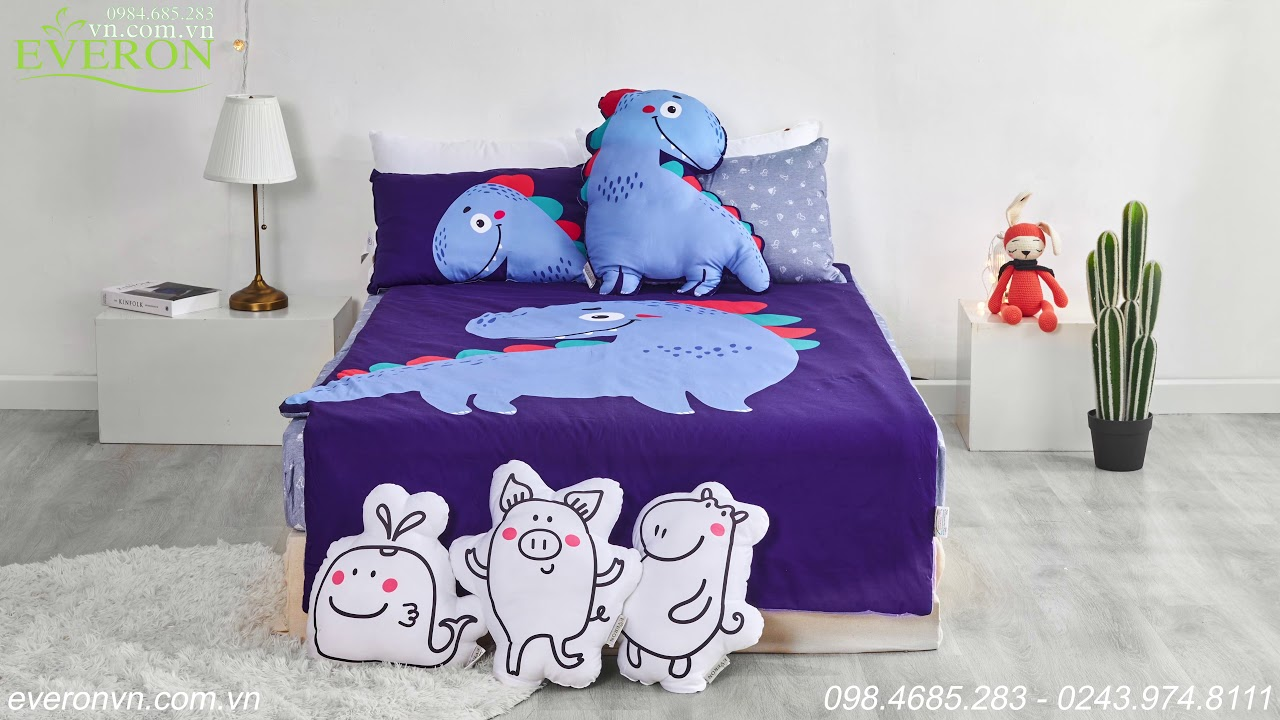 Bộ Everon Baby-Set-Croc