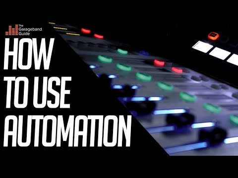 GarageBand Tutorial – Automation For Beginners