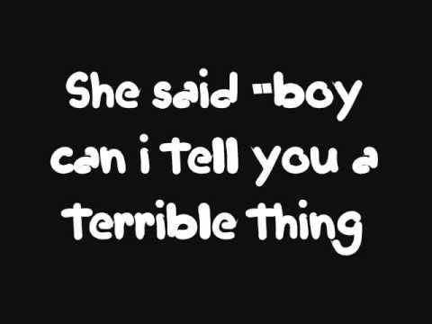 Terrible Things Lyrics - Mayday Parade