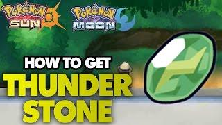 How to Get Thunderstone - Pokemon Sun and Moon Thunderstone Location Tutorial