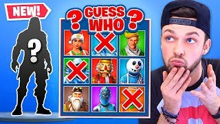 *NEW* Fortnite skin GUESS WHO!