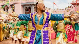 Will Smith Sings Prince Ali Scene - ALADDIN (2019) Movie Clip