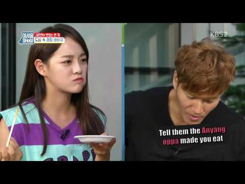 Download Anyang Oppa Forced Sejeong To Eat~ HD Mp4 3GP Video and MP3