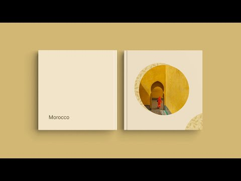 """Inspiration for Your Photo Book Cover — """"Morocco"""""""