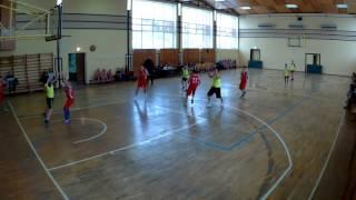 Баскетбол, школьные соревнования, Школа №3 против Школы №?, Тихорецк 2016