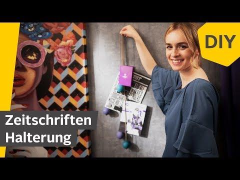 DIY: Zeitschriftenhalter selber machen | Roombeez – powered by OTTO