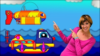 #Пома спасает Машу #КапукиКануки 🚣 Путешествие под водой ⛵ Мультики про машинки 🔷 Изучаем фигуры.