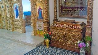 Воскресное богослужение в Церкви Покрова Пресвятой Богородицы УПЦ КП в пос.Коцюбинское (Коцюбинське)