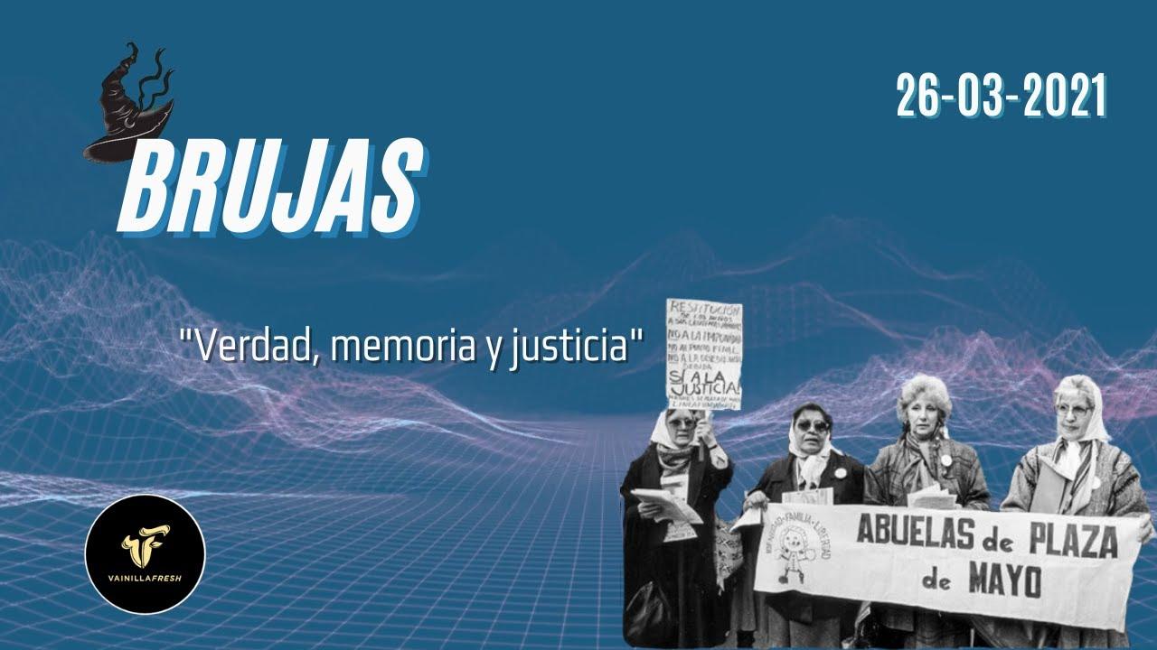 Memoria, verdad y justicia!