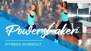 Powershaker - Fitness  Workout - Woerden en Harmelen. Muscles,  Arms Back Abdomen Legs Booty