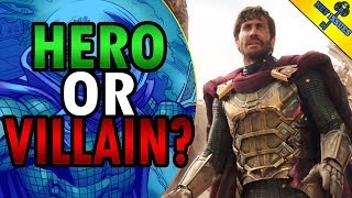 The Mystery of Mysterio   Is He A Villain? THEORY
