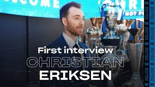 CHRISTIAN ERIKSEN | Exclusive first Inter TV Interview | #WelcomeChristian! 🎙️⚫️🔵 [SUB ITA]