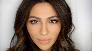 Date Night Makeup Tutorial + Hair | Natural Makeup Tutorial | Teni Panosian