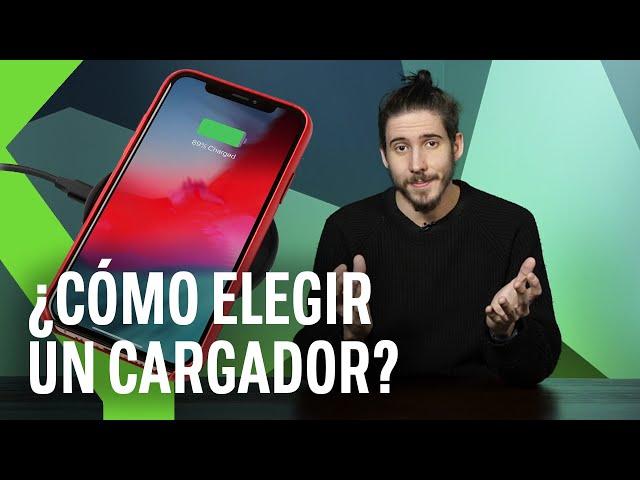 Cómo elegir el MEJOR CARGADOR para tu SMARTPHONE