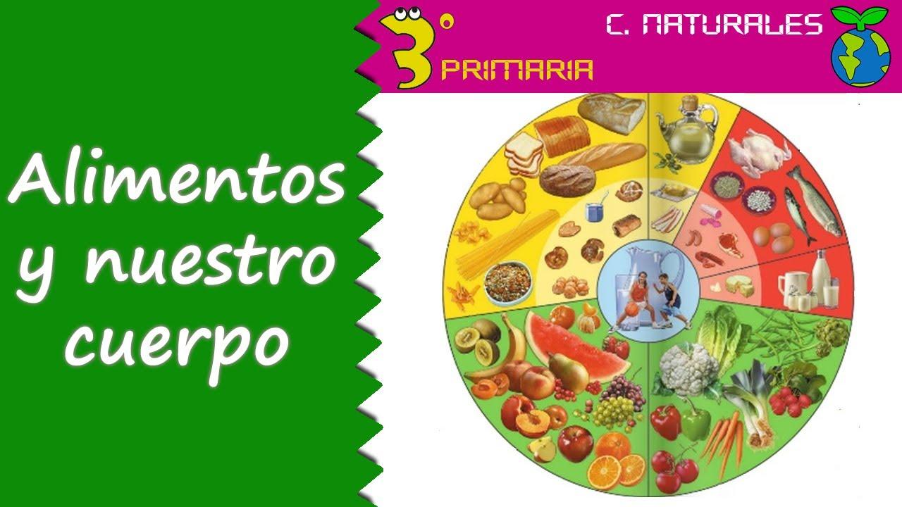 Ciencias de la Naturaleza. 3º Primaria. Tema 4. Función de los alimentos