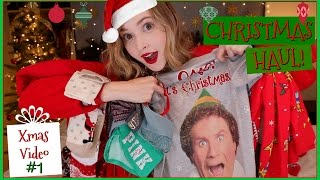 Christmas Haul 2016  Clothing & Accessories