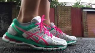 Women's ASICS Gel Kayano 21 (White/Hot Pink/Emerald)