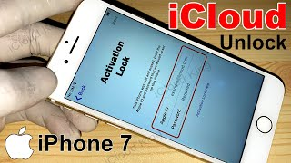 New// Method!! any iOS Bypass Activation Lock iPhone 7 With iPad 1000% !!Unlock iCloud 2021