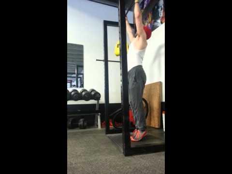 Hanging Leg Raise (Toes to Bar)