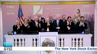 Treasurer of Two Harbors Investment Corp. Rings the NYSE Closing Bell