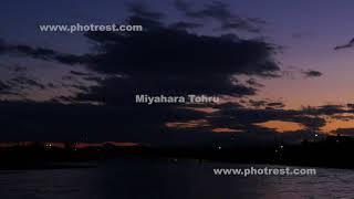 夕景の動画素材, 4K写真素材