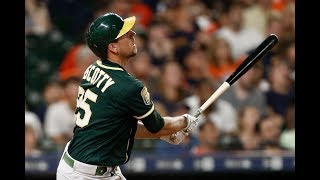 Stephen Piscotty 2018 Highlights | Oakland Athletics