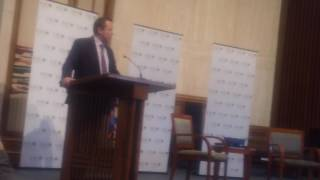 Neo-Confederate Corey Stewart at Temple Rodef Shalom (5/21/17)