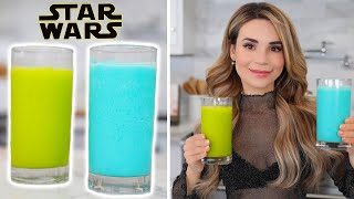 How To Make Star Wars Blue & Green Milk! - NERDY NUMMIES