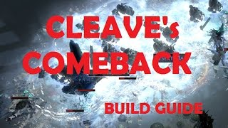 Path of Exile  - CLEAVE Ascendant Build Guide | Crit Shatter | (also Lacerate/Reave)