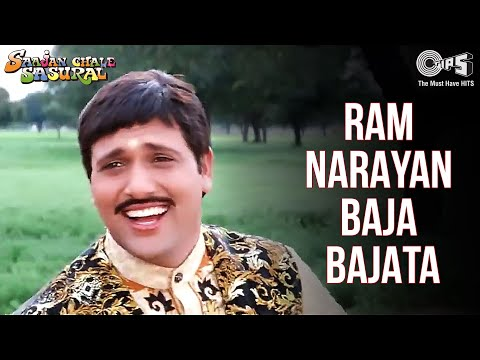 Ram Narayan Baaja Bajaata - Video Song   Saajan Chale Sasural   Govinda   Udit Narayan