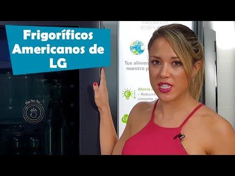 Así son los frigoríficos americanos de LG