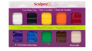 Basic Information on Polymer clay and tools: Fimo, sculpey, baked clay projects - EP