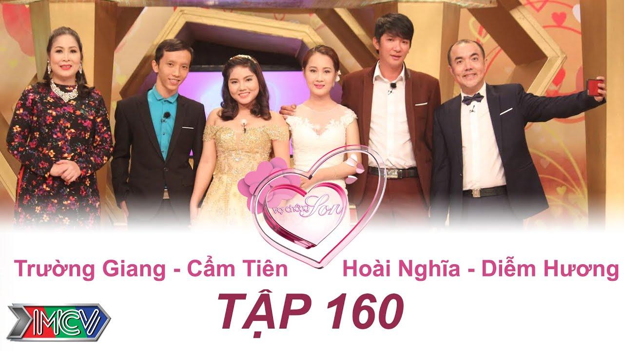 Trường Giang - Cẩm Tiên | Hoài Nghĩa - Diễm Hương | VỢ CHỒNG SON | Tập 160 | 04/09/2016