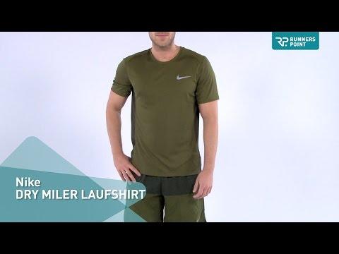 Nike DRY MILER LAUFSHIRT