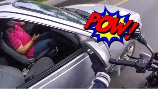 MIRROR SMASH | EXTREMELY CRAZY & ANGRY PEOPLE vs BIKERS |   [Ep. #195]