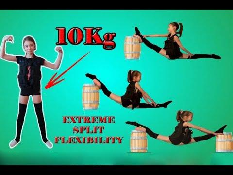 GRAND ÉCART EXTREME VEST 10KG!! OVERSPLITS  GYMNASTICS FLEXIBILITY SPLIT STRETCHES OVER SPLITS