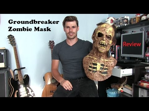 Groundbreaker Zombie Mask Review | Dusk Aid Productions