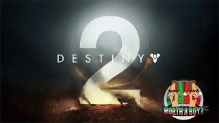 Destiny 2 Trailer REACTION!!!!!1!!!1