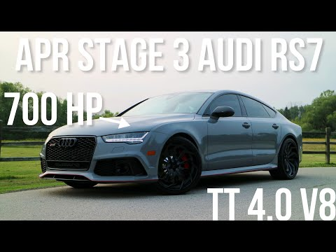 Here's What It's Like To Pilot A 700+ HP Tuned Audi RS7 [Lights Out]