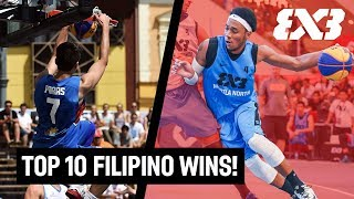 Top 10 Philippines 3x3 Wins of All Time! - FIBA 3x3