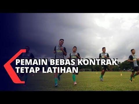 Pemain PSMS Medan Bebas Kontrak Tetap Berlatih