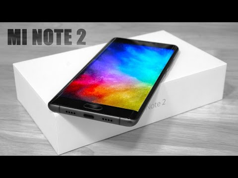 Xiaomi Mi Note 2 - Unboxing & Hands On