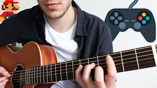 5 Video Game Songs to play on Guitar (FINGERSTYLE)