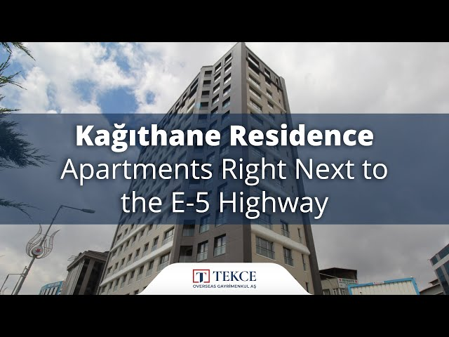 Investment Kagithane Apartments in an Excellent Location