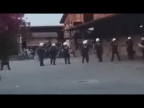 Αστυνομική επιχείρηση απομάκρυνσης εκατοντάδων μεταναστών στην Πάτρα